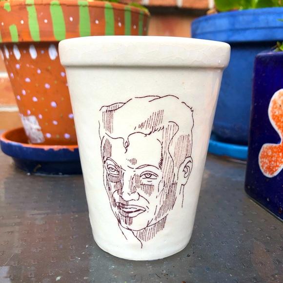 Handsome Man Ceramic Cup